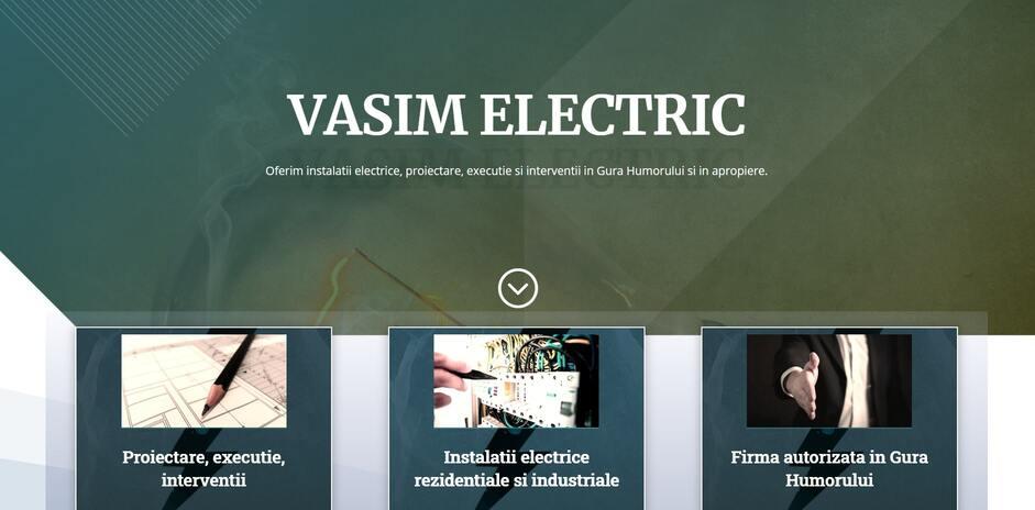 vasimelectric.ro-portofoliu-web-design-spatiuweb